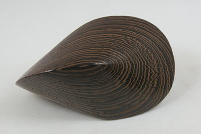 handschmeichler oloid wenge holz handarbeit unikat ca 7 cm paul schatz ebay. Black Bedroom Furniture Sets. Home Design Ideas